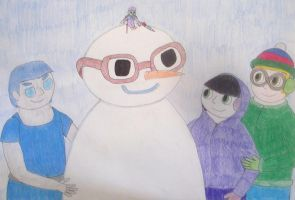 No Man like a Snowman by Cartooniac55