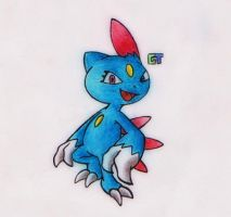 #215 - Sneasel by GTS257-CT