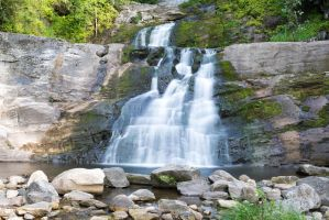 Kent Falls, second tier. by Vision-Quest