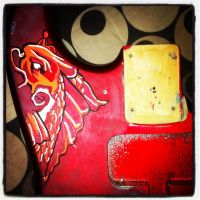 custom guitar by A-minute-to-smile