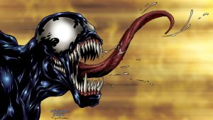 Venom II by NickDraw by pixeltease