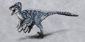 Utahraptor by mrXylax