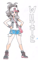 Pokemon Trainer White by animageo