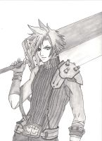 Cloud Strife by Truegenicode