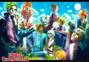LH High: Basketball Team by Yaoi-World