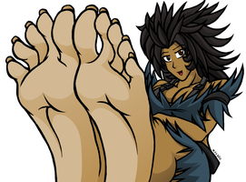 About Your Feet - Mia by MostlyFunStuff