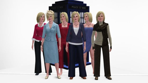 The Sims 3 - Doctor Who - Sylvia Noble by exangel42