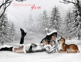 Mrs. Claus by strawberrygloss