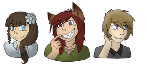 Headshots batch 1 by Tycusha