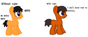 Nick - With and without refs by Pixillon12Donuts