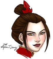 Azula by SylviaDraws