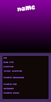 Mystery Skulls Profile Template by DiceRollen