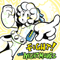 FIGHT the NIGHTmares by AdorkableMarina