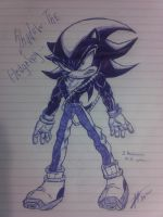 Shadow the Hedgehog by Zapitoow