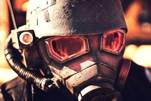 NCR Helmet Closeup by Gryz