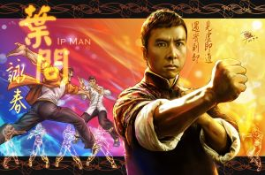 Wing Chun Ip Man by godfathersky