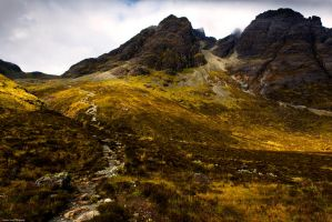 The challenge of Blaven by LordLJCornellPhotos
