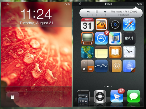 RealSimple iPhone 4 by dast1g