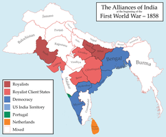 India, Antebellum by TallestSkil