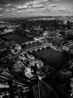 View From The Shard - VI by InayatShah