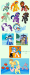 Ponies an' Ponies by KaiThePhaux