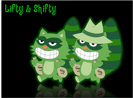 Lifty and Shifty by schoman3