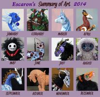 Art Summary 2014 by Escaron