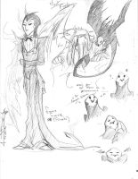 Mort Froide - doodles by KangooNoh