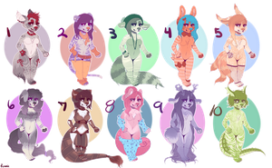 Flatsale chibi adopts! PRICES LOWERED (OPEN 7/10) by starcritter