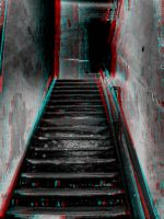 Scary Staircase 3-D conversion by MVRamsey