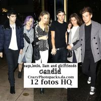 Zayn Louis Liam And Girlfriends Candid by CrazyPhotopacks