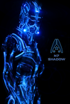 N7 Shadow NEON Poster by RedLineR91