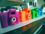 02: Colorful Cameras by walking-zero
