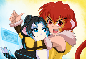 The Strong Sisters by Ninja-8004