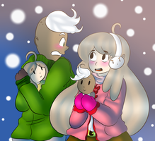 Collab_Baby it's cold outside by Music-X-Rose