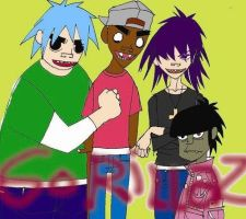 We are GORILLAZ by poi333p
