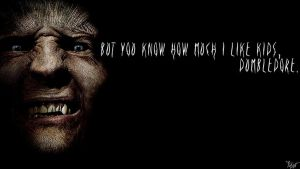 Harry Potter Wallpaper : Greyback Quote! by TheLadyAvatar