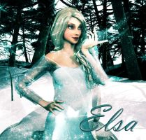 Elsa of Arendelle by deslea