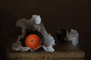 Etude with tangerines by An-gora