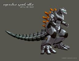 Mecha Godzilla Individual Layouts - NASA by NoBackstreetboys