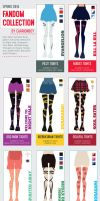 Spring 2014 Fandom Collection by ItsumiK
