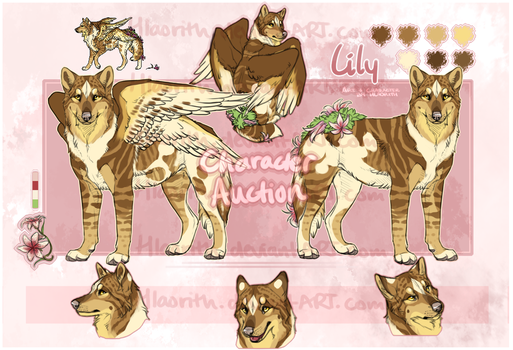 Tabbylily Wolf Auction - CLOSED by Hlaorith