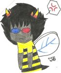Chibi Bee Sollux by ChiMigumi