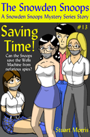 Saving Time Book Cover by MisterMistoffelees