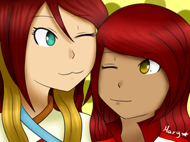 Tania y Mary :3 by KiriChan94