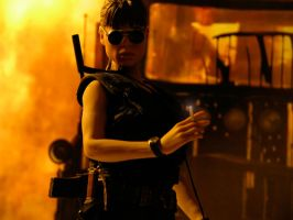 Sarah Connor - T2 by Riebeck