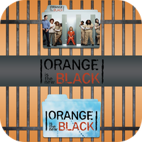 Orange is the New Black folder icons by LeaBeaudoin