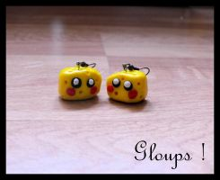Gloups Fimo by MellePaulina