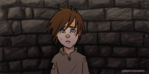 Arya Stark animated by ShamanEileen