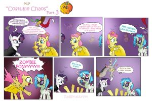 MLP: Costume chaos part 3 by raggyrabbit94